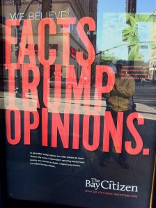 Facts Trump Opinions