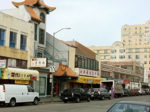 Oakland Chinatown street