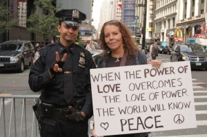 OWS sign power of love
