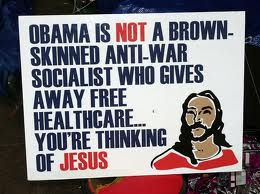 Obama is a socialist, the same way Jesus was