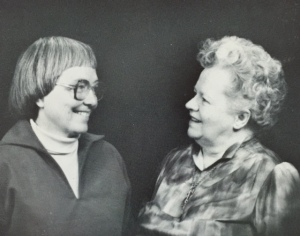 Ellie with Wilma, 1984